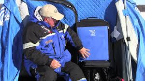 Clam Ice Fishing Seats by Clam Nanook Thermal Review With Dave Genz Youtube