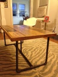 diy industrial style coffee table with instructions and materials