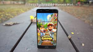 Subway Surfers Halloween Update by Subway Surfers 1 69 0 Apk Mod Monaco Unlimited Keys Coins Unlocked