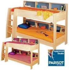 bunk beds with shelves foter
