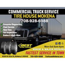 Tire House Mokena - Truck Accessories Store - Mokena, IL 60448
