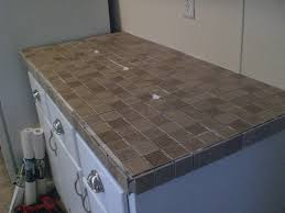 tiling laminate countertops part one of my trailer