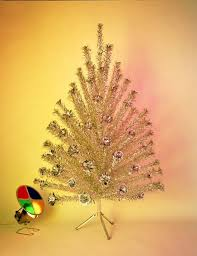Popular Artificial Silver Tip Christmas Tree by History Lesson The Aluminum Christmas Tree Etsy Journal