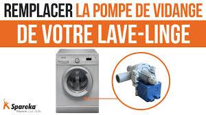 lave linge bosch maxx 7 probleme comment remplacer la pompe de vidange de votre lave linge