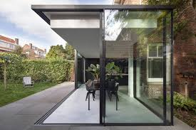 100 Glass Extention Fig Tree House Box Extension By Bloot Architecture