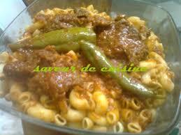 pate a la tunisienne pâtes à la tunisienne makrouna salsa saveurs de cuisine