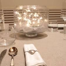 Espectaculares Ideas De Centros De Mesa Y Decoraciones Con Luces