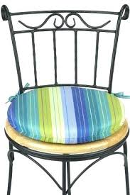 Outdoor Round Chair Cushions Outdoor Round Bistro Cushions Modern