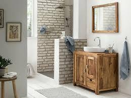 badset waschtisch mit spiegel lagos klein holz palisander massiv badmöbel ebay