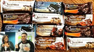 Quest Bars Mega Taste Tests