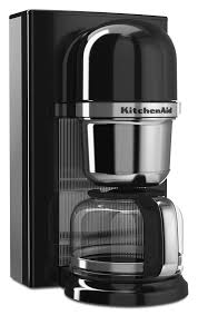 Amazon KitchenAid KCM0802OB Pour Over Coffee Brewer Onyx Black Kitchen Dining