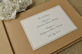 Rustic Style Personalised Wedding Guest Book 3