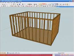 Woodworking Design Software Free For Mac by Use Sketchup To Create A 3d Framing Model Fine Homebuilding