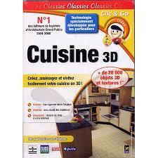 jeux de cuisine 3d cuisine 3d logiciel pc prix pas cher cdiscount