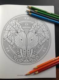 Coloring Animal Mandalas 30 Hypnotically Beautiful Mystical
