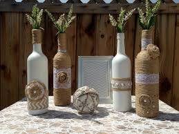 Wedding Centerpieces Vases Shabby Chic Rustic