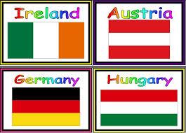 Printable Flags Of The European Union Countries