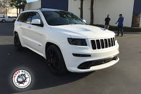 Jeep SRT Wrapped In 3m Satin White Wrap | Wrap Bullys Preowned 2006 Dodge Ram 1500 Srt10 Truck Quad Cab In Bridgewater This Is One Awesome Jeep Cherokee Srt8 Vapor Edition Explore 2007 Grand Navi Dvd New Tires Powder Coated Used Ram Trucks For Sale Near Thornton Co 2005 Texas One Take Mar 2017 Zip Charger Monster Gta San Andreas Super Bee Forum Viper Ceo Says No 707hp Hellcat Planned Right Now Caropscom Black On Club Of America Regular Wts Jeep Grand Cherokee Silver 50k Miles Fully Loaded Rt Srt Serioushp