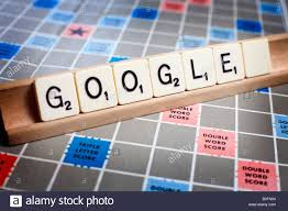 Letters On A Scrabble Board Spell Out The Name Of The Internet Giant