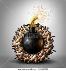 cigarette concept anti smoking symbol tobacco stock illustration