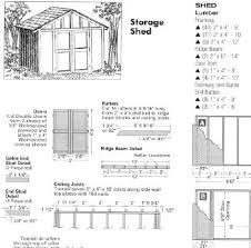 woodworking plans for beginners free 8x8 storage shed plans free