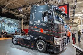 HANNOVER, GERMANY - SEP 21, 2016: Renault Trucks T High Edition ...