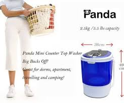 Panda Mini Washing Machine Review For RV