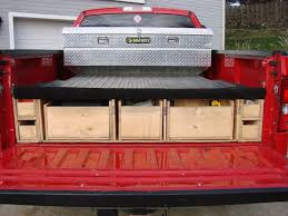 Pickup Bed Tool Boxes by Bedroom Glamorous Diy Truck Bed Tool Storage Truck Bed Storage