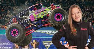 100 Hot Female Truck Drivers Rosalee Ramer Monster Jam