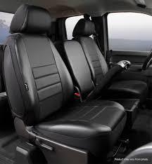 LeatherLite Custom Seat Cover, Fia, SL69-40BLK/BLK | Titan Truck ...