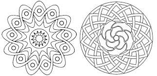 Free Printable Geometric Coloring Pages