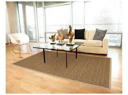 Anji Mountain Seagrass Rectangular Saddleback Area Rug