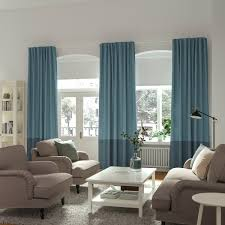 Curtains And Blinds IKEA Add Some More Color For Your Home