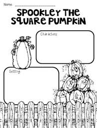 Spookley The Square Pumpkin Coloring Pages by Spookley The Square Pumpkin Story Elements Freebie By Teacher At Heart