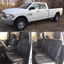 100 Pickup Truck Seats 20132018 Dodge Ram Crew Cab KATZKIN Black Leather Kit