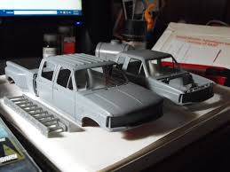 100 Used Truck Scales 7 Here They Are With Primer Since Im Using Actual Auto Paint The