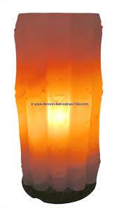 Himalayan Ionic Salt Lamp by Himalayan Ionic Salt Crystal Bamboo Lamp