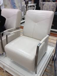 Off-White Leather Accent Chair - @HomeSense Canada   Accent ... Coaster Fniture Off White French Script Accent Chair Adwisly Amazoncom Safavieh Normal Offwhite Samdecors Sky Wing Off Design Lounge Cafetaria Patio Solid Wood Walnut Finish Legs Trends And Adele Country Myco 8762 8760 Rustic Cotton Arm Oadeer Home Kitchen Ding Casual Couture High Line Collection Alena Polyester Blend