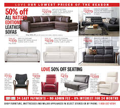 Natuzzi Editions Furniture Canada by The Bay Weekly Flyer Furniture Mattresses U0026 Major Appliances
