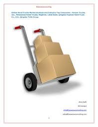 100 Magliner Hand Trucks Global Market Research Report Opportunities