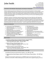 Engineering Manager Resume Lovely Construction Project Examples Of Resumes