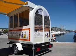 100 Snack Truck Marque MAZAKI Motor Produits Food Truck Remorque Snack