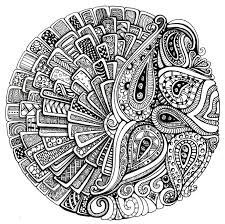 Mandala Coloring Pages Therapy 8th MarchMandala