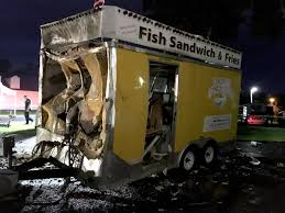 100 Propane Truck Explosion Fire Department Investigating Food Truck Explosion At The