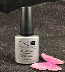 Cnd Uv Lamp Instructions by Cnd Brisa Paint Soft White 08059 Color Gel Nails 3d Nail