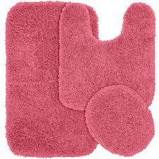 Red Bath Rug Set by Amazon Com Garland Rug 3 Piece Jazz Shaggy Washable Nylon
