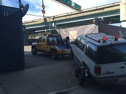 100 Tow Truck San Francisco SF Police Impound Homeless Mans Car For Unpaid Parking