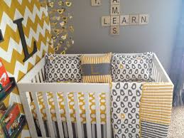 51 best baby bedding yellow gray images on pinterest baby