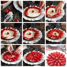 dessert aux fraises facile tarte aux fraises rapide et facile et gourmandise