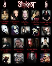 Slipknot Halloween Masks 2015 by Slipknot Unmasked With Names Posting By Suar A At 04 34 00 1